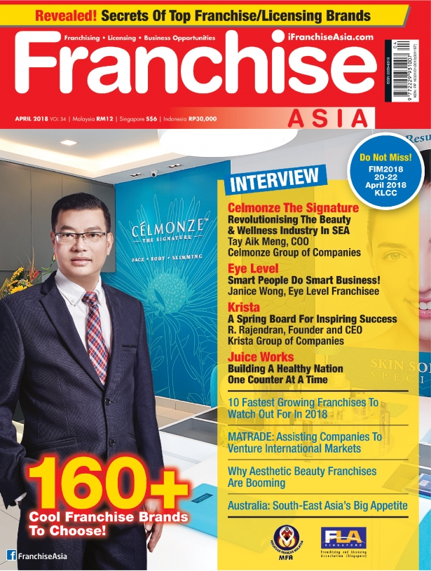 Franchise Asia Magazine April 2018
