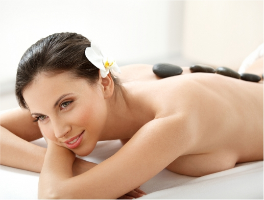 Aroma Energy Stone Body Massage